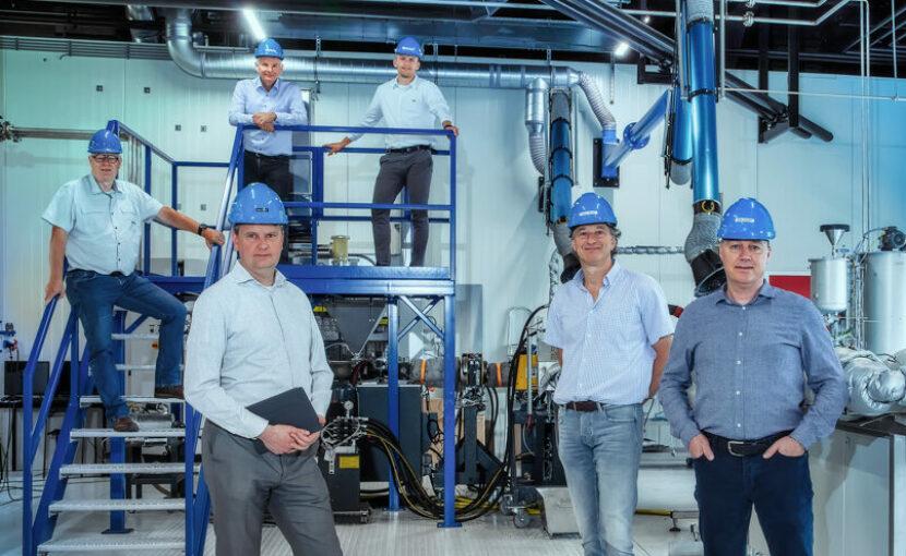 Pilot continuproces repolymerisatie tot topkwaliteit rPET